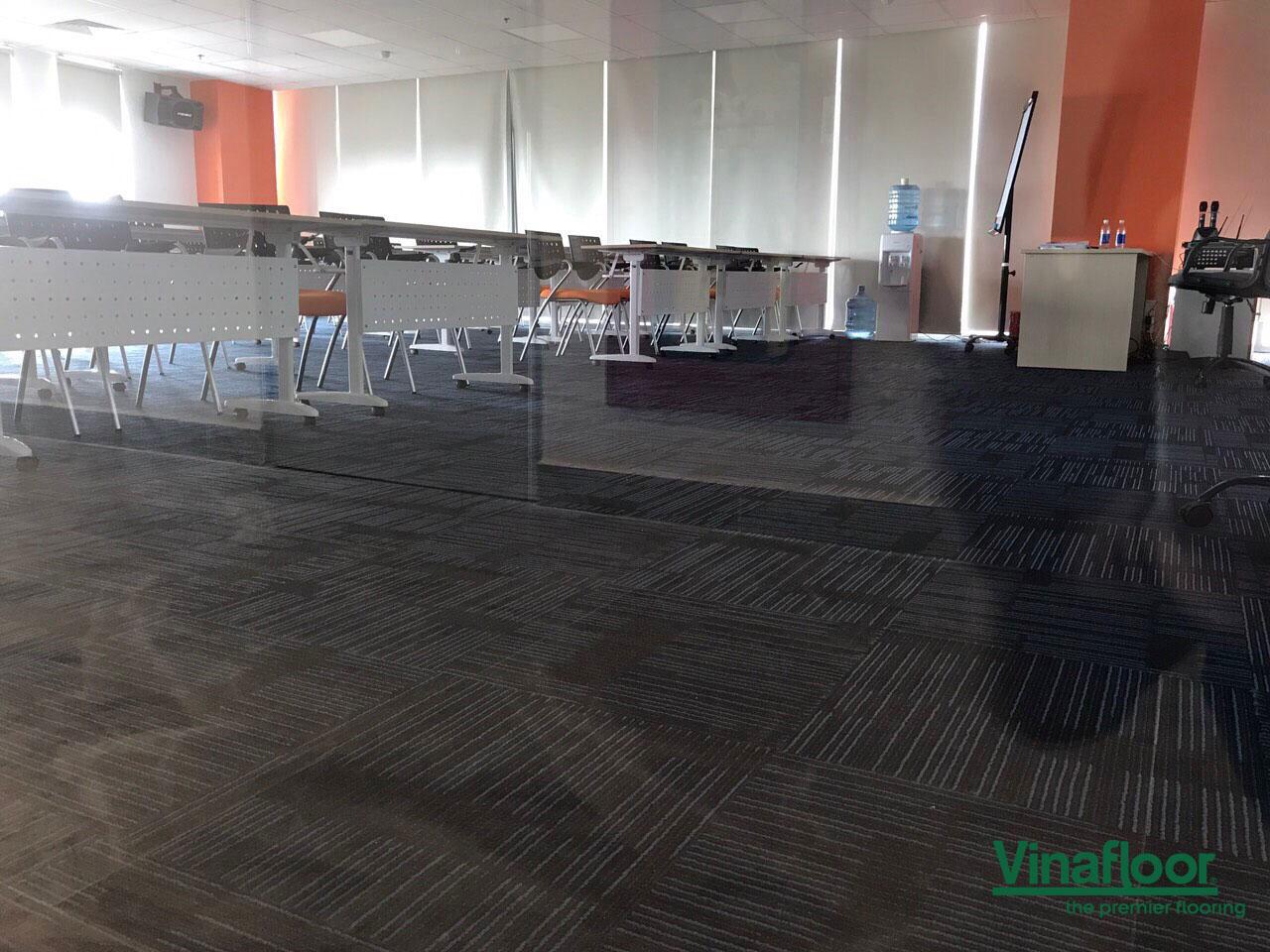 Công trình thảm trải sàn Manchester MA07 toà nhà Park 9, Phan Đình Giót , Tân Bình