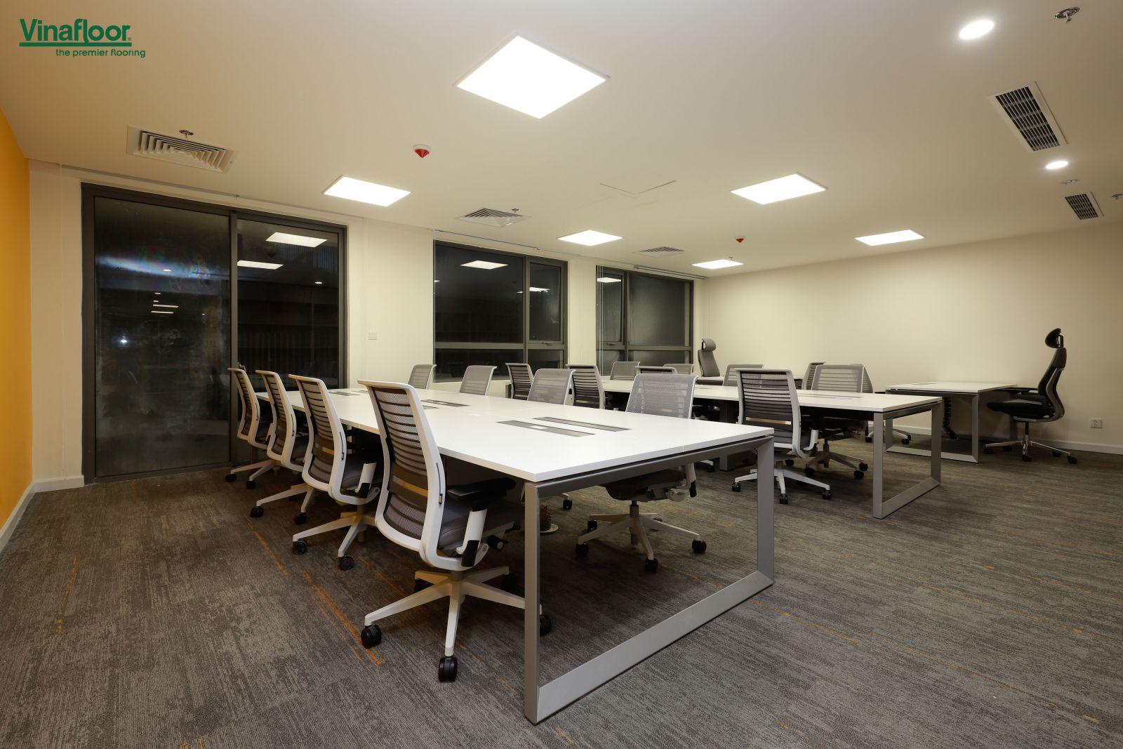 Công trình thảm trải sàn Skywalk văn phòng Masteri An Phú Quận 2