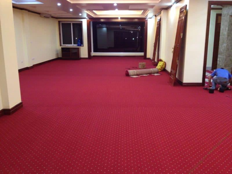 Chọn mua thảm trải sàn sự kiện giá rẻ