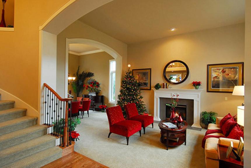 Chọn thảm trải sàn đón Giáng Sinh ấm áp