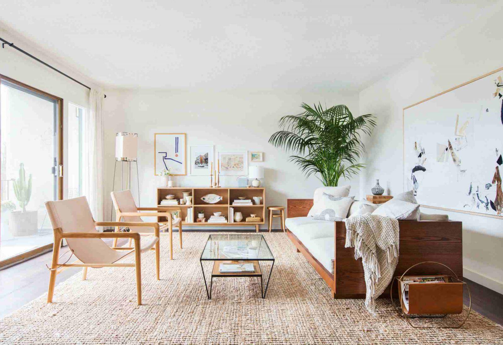 Thảm trải sàn phòng khách và cách trang trí trưng bày đẹp nhất