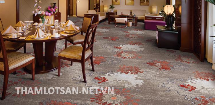 màu sắc thảm trải sàn