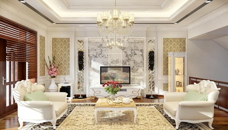 Thảm trải sàn tạo điểm nhấn trong thiết kế nội thất ngày Tết