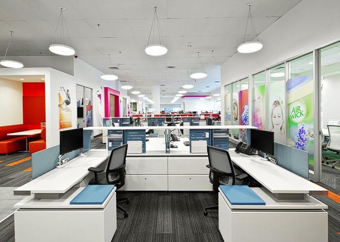 Thảm văn phòng mang đến không gian hiện đại cho công ty